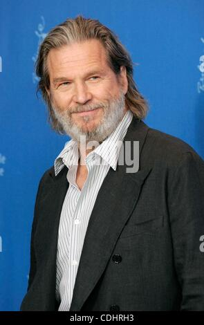Feb. 10, 2011 - Hollywood, California, U.S. - JEFF BRIDGES.True Grit photocall.61st Berlin International Film Festival.Berlin, - Stock Photo