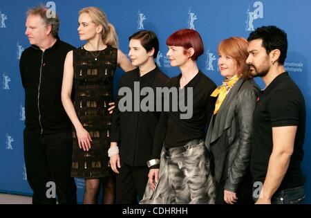 Feb. 10, 2011 - Hollywood, California, U.S. - JURY.Jury photocall.61st Berlin International Film Festival.Berlin, - Stock Photo