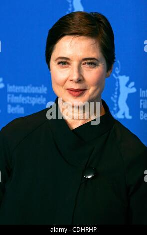 Feb. 10, 2011 - Hollywood, California, U.S. - ISABELLA ROSSELLINI.Jury photocall.61st Berlin International Film - Stock Photo