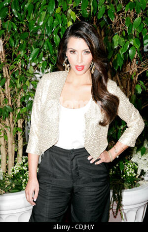 Feb. 26, 2011 - Hollywood, California, U.S. - KIM KARDASHIAN.QVC Red Carpet Style Party.at the Four Seasons Hotel.Beverly - Stock Photo