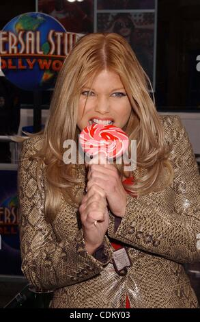 Mar. 27, 2011 - Hollywood, California, U.S. - DONNA D'ERRICO .The Universal Pictures World Premiere Of ''HOP'' Held - Stock Photo