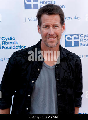 Apr.16, 2011 - Universal City, California, USA -  JAMES DENTON arrives for the 'Block Party on Wisteria Lane' fundraiser - Stock Photo