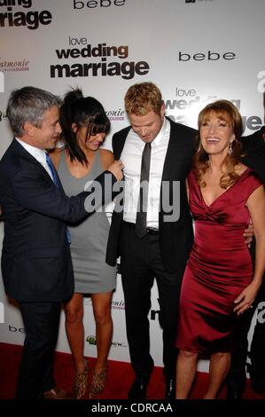 May 17, 2011 - Hollywood, California, U.S. - Dermot Mulroney, Jessica Szohr, Kellan Lutz and Jane Seymour during - Stock Photo
