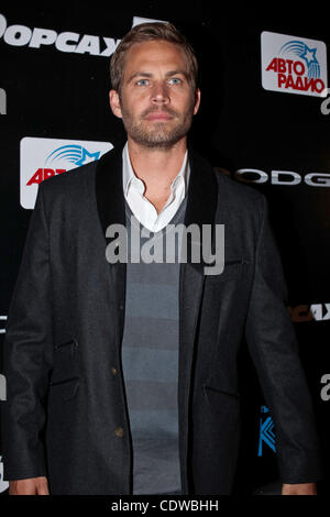 Apr 24, 2011 - Moscow, Russia - Actor PAUL WALKER attend the premier of Russian Premier of Fast & Furious 5 (Fast - Stock Photo