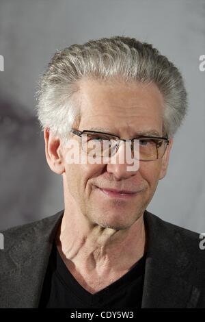 Nov. 2, 2011 - Madrid, Spain - Director David Cronenberg attends 'Un Metodo Peligroso' (A Dangerous Method) photocall - Stock Photo