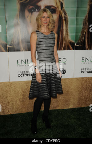 Oct. 6, 2011 - Los Angeles, California, U.S. - Laura Dern attending the Los Angeles Premiere of HBO's new series - Stock Photo