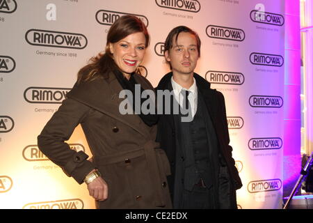 Jessica Schwarz , Tom Schilling at the grand opening of the Rimowa Flagship Store. Cologne, Germany - 20.10.2010 - Stock Photo