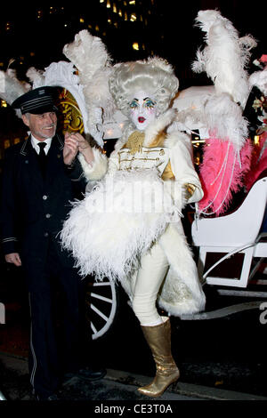 Prince Poppycock Assouline's 'Windows at Bergdorf Goodman' book party celebration - Inside New York City, USA - - Stock Photo
