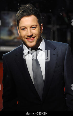 Matt Cardle The Royal Premiere of The Chronicles of Narnia: The Voyage of the Dawn Treader at the Odeon Leicester - Stock Photo