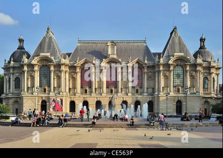 The Palais des Beaux-Arts de Lille / Lille Palace of Fine Arts, France - Stock Photo