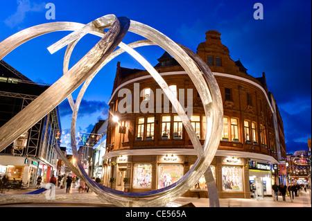 Arthur Square, Belfast, Northern Ireland - Stock Photo