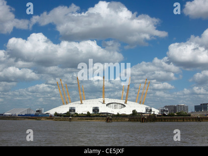 The 02 Arena, formerly known as the Millenium Dome - Stock Photo