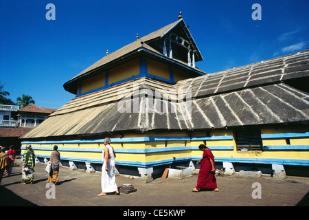 Anantheshwara Shiva Temple ; Sri Anantheshwara temple ; Udupi ; Udipi ; Odipu ; Karnataka ; India ; Asia - Stock Photo