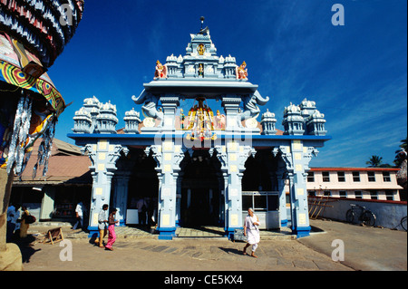 Lord Krishna temple ; Udupi ; Udipi ; Odipu ; Karnataka ; India ; Asia - Stock Photo