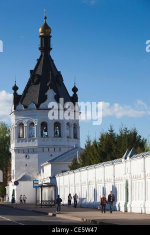 Russia, Kostroma Oblast, Golden Ring, Kostroma, Monastery of the Epiphany, walls - Stock Photo
