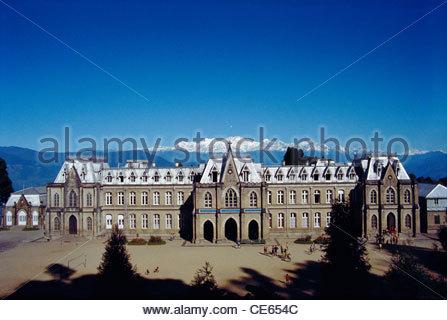 ST Josephs College of Darjeeling ; North Point ; West Bengal ; India - Stock Photo