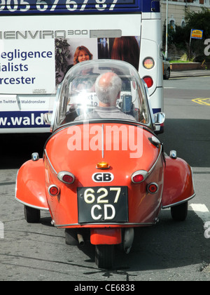 Messerschmitt car KR200 Cabin Scooter three wheeler bubble car - Stock Photo