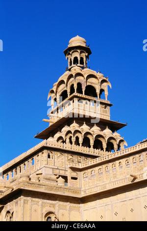 Tazia Tower Badal palace Jaisalmer Rajasthan India
