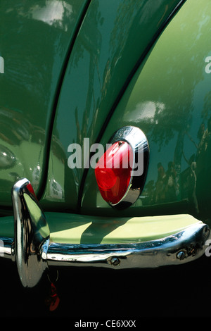 Classic Car Tail Lights Stock Photo, Royalty Free Image: 146667116 - Alamy