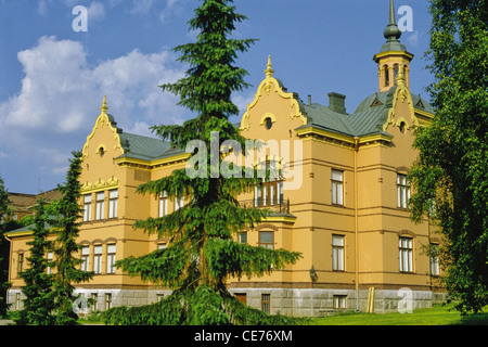 Lahti Historical Museum is housed in the former main building of Lahti Manor House in Lahti, Finland. - Stock Photo