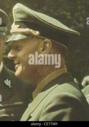 Joachim von Ribbentrop, the son of a German Army officer, was born in Wesel, Germany, on 30th April, 1893. - Stock Photo
