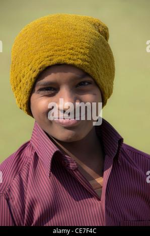 happy smiling Indian boy - Stock Photo