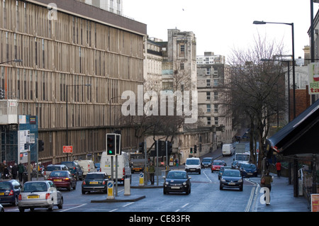 Bristol Royal Infirmary (BRI) - the main hospital in the centre of Bristol, UK. - Stock Photo