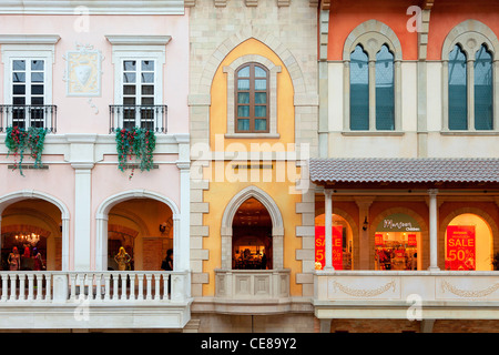 Dubai, Jumeirah, Mercato Shopping Mall - Stock Photo
