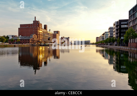 Innenhafen Duisburg - Stock Photo