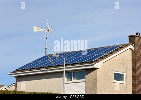Micro Wind Turbines On The Roof Of A Tesco Supermarket