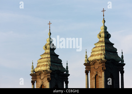 Poznan Cathedral on Ostrow Tumski , an island between two branches of the river Warta in the city of Poznan - Stock Photo