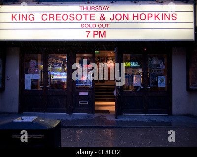 King Creosote and Jon Hopkins SOLD OUT - Stock Photo