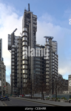 The Lloyds Building, London, England, UK - Stock Photo