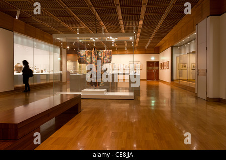 Asian gallery, Art Gallery of New South Wales, Sydney, New South Wales, Australia - Stock Photo