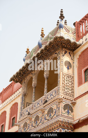 In the City Palace in Jaipur, in Rajasthan, India - Stock Photo