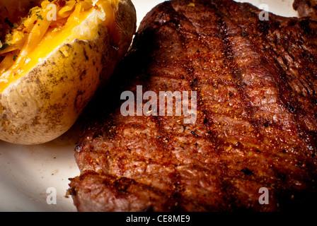 Steak Dinner - Stock Photo