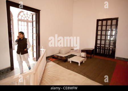 Gandhi Smriti, the home of Mahatma Gandhi for last 144 days of his life, before he was shot on January 30th 1948, - Stock Photo