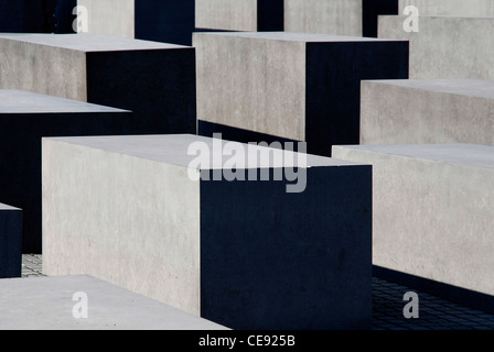 Memorial to the Murdered Jews of Europe in Berlin. - Stock Photo