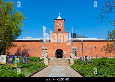 Van Abbemuseum - museum of modern and contemporary art located in central Eindhoven, Netherlands - Stock Photo