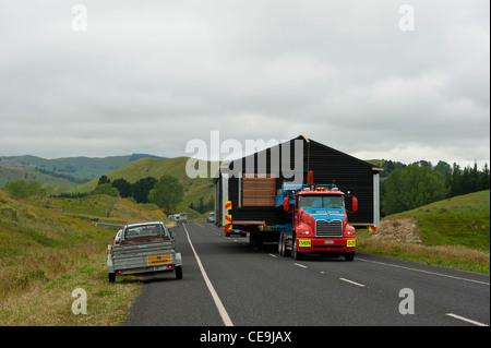 Moving House, New Zealand style - Stock Photo