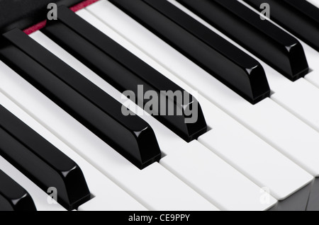 Piano keyboard - Stock Photo