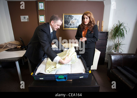 Concierge and Bespoke Butler academy, Central London, United Kingdom - Stock Photo
