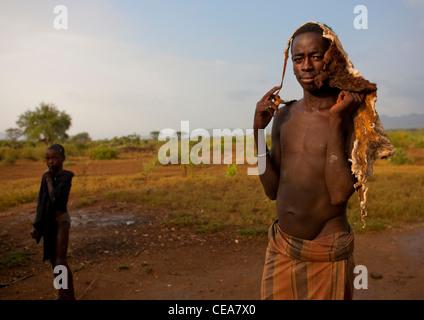 Banna Man Jumper Ethiopia - Stock Photo