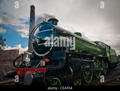 1306 Mayflower steam locomotive - Stock Photo