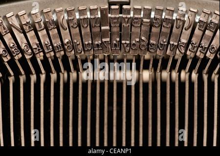 Old-Fashioned typewriter - Stock Photo