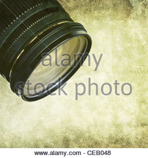 dirty lens - Stock Photo