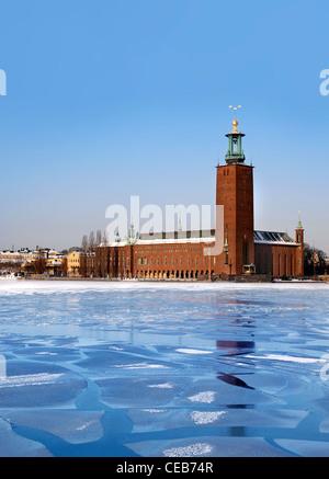 City Hall Stockholm - Stock Photo