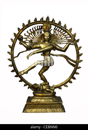 Nataraja (Shiva) , the lord of dance - Stock Photo