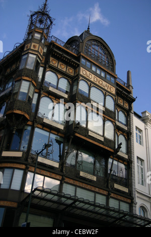 The Musical Instrument Museum (MIM) is a music museum in central Brussels. - Stock Photo