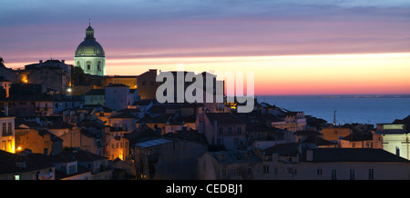 Alfama Lisboa Lisbon Portugal Europa Europe - Stock Photo